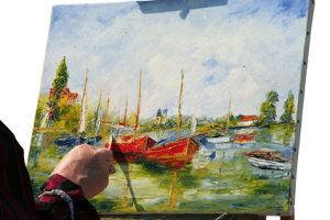 Anleitungen, Tchniken und Tipps für die Ölmalerei