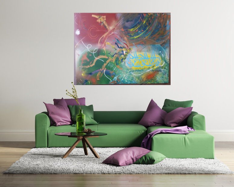 Orientalische Malerei